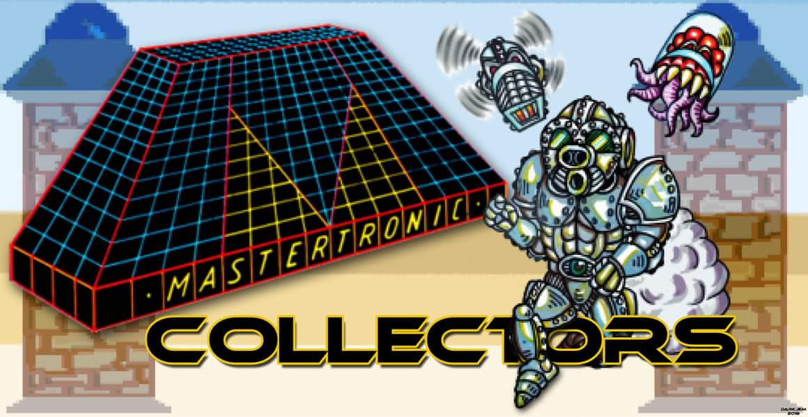 Mastertronic Collectors Group logo, courtesy of John Elias Marston BA