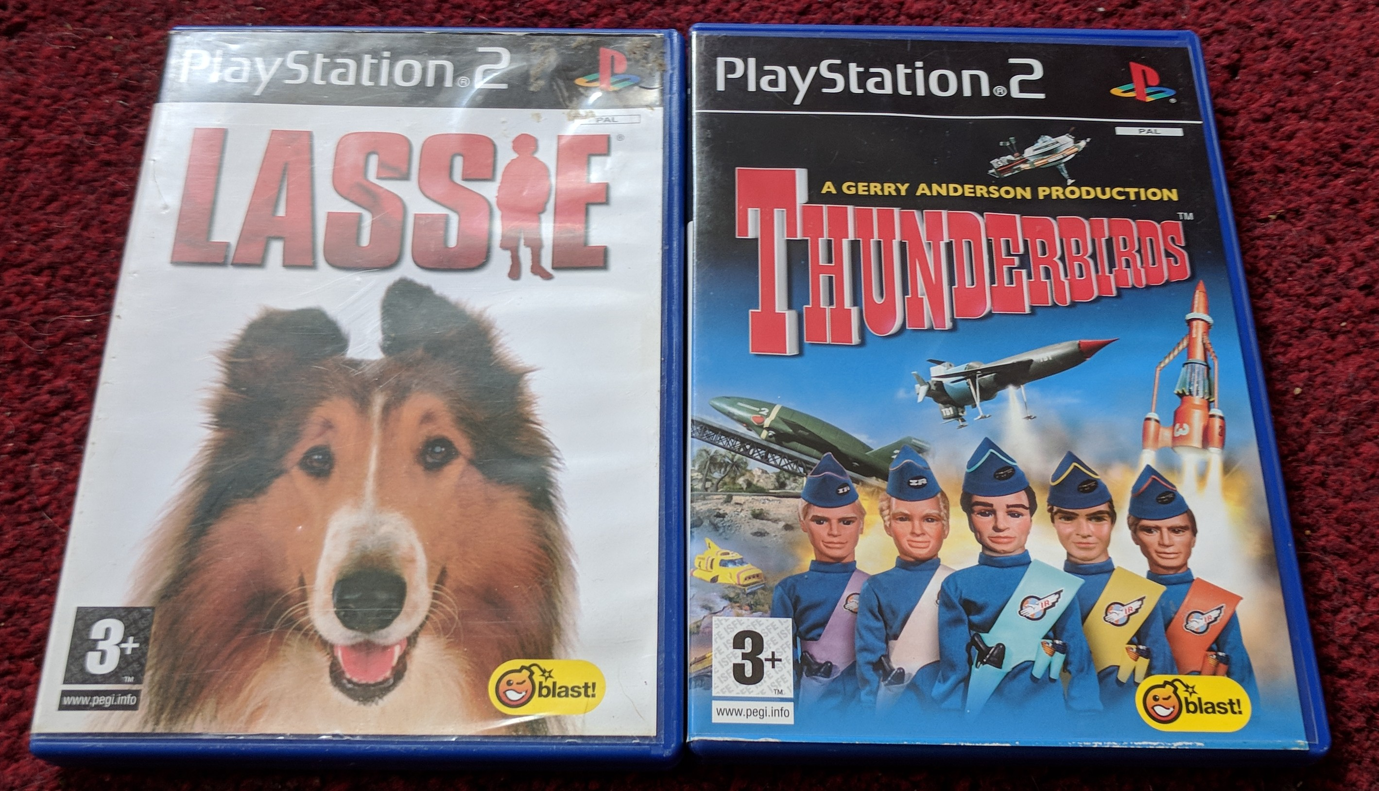 Playstation 2 Blast games