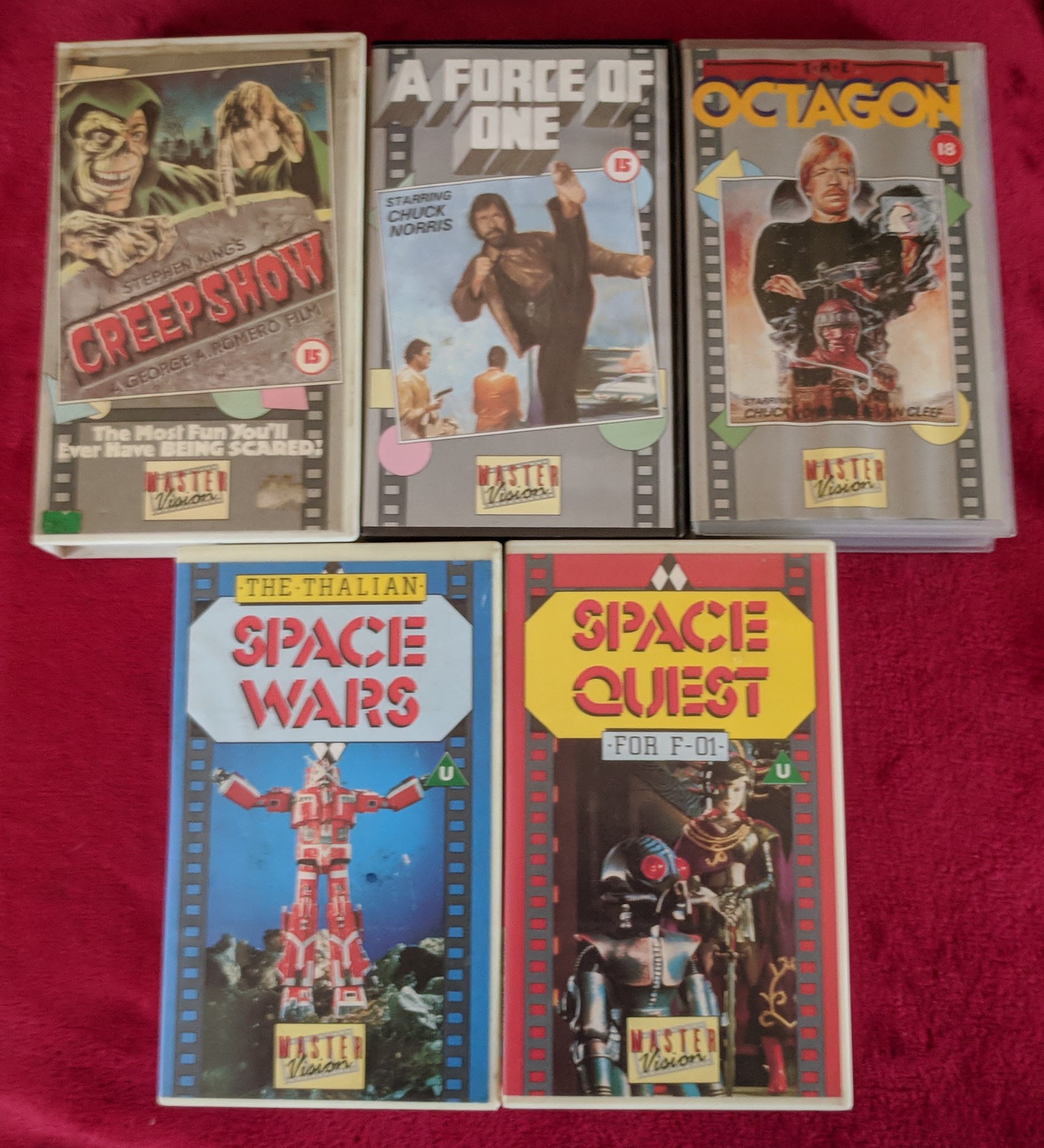 Master Vision VHS releases