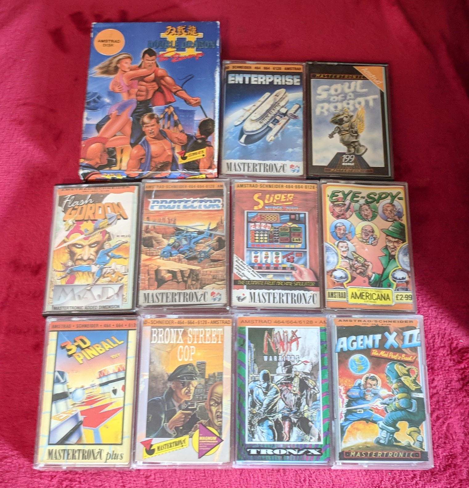 Amstrad Mastertronic games