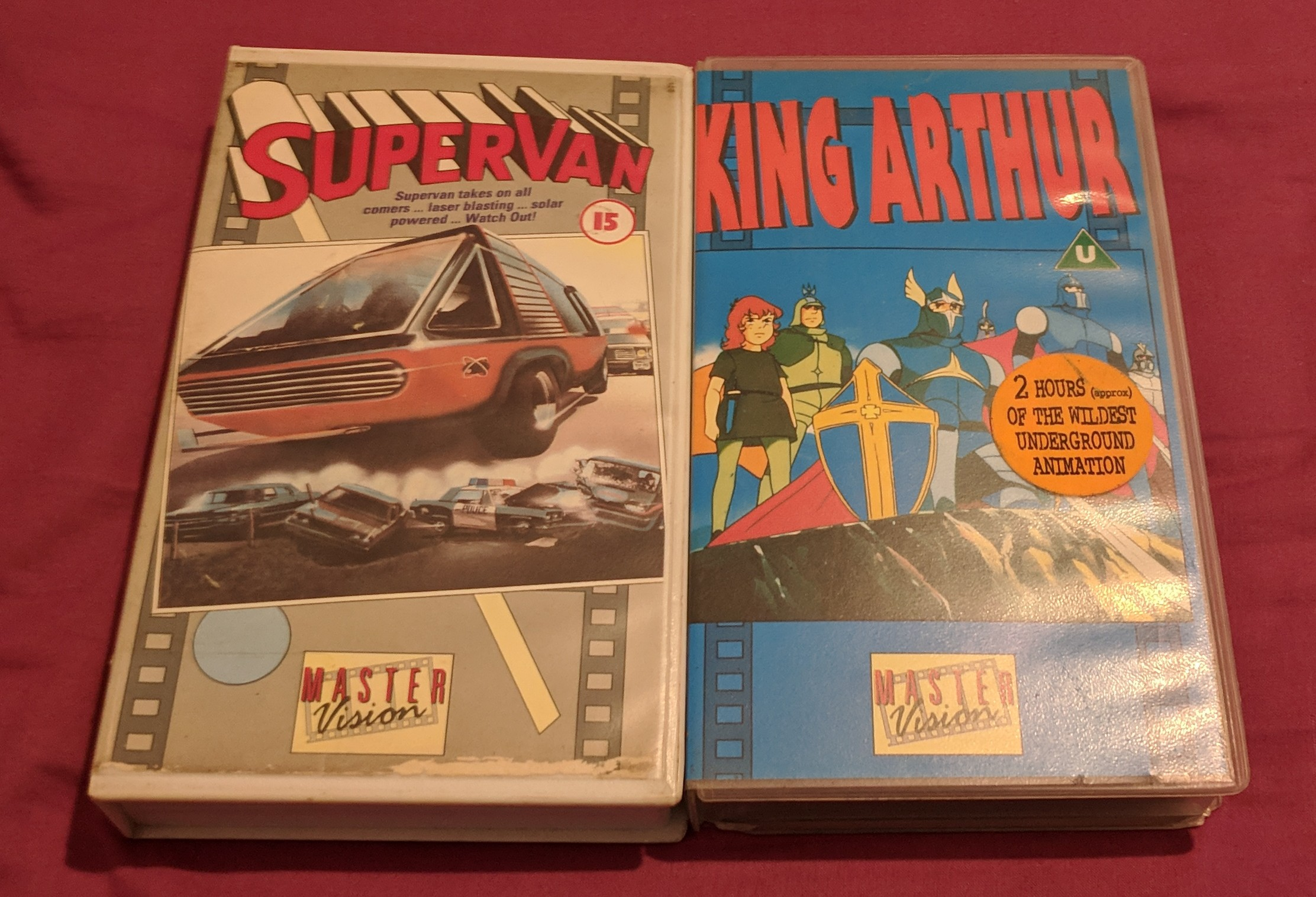 Mastervision - Supervan and King Arthur